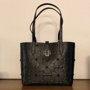 Kate Spade Flower Embossed Small Tote